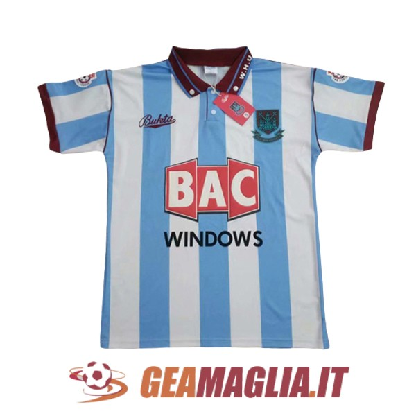 seconda maglia west ham united retro 1991-1992